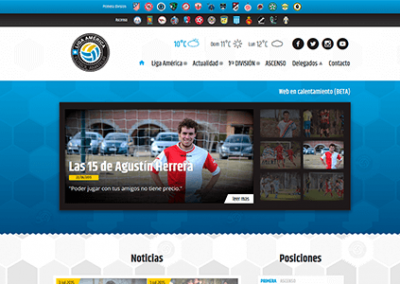 Sitio web de Liga América