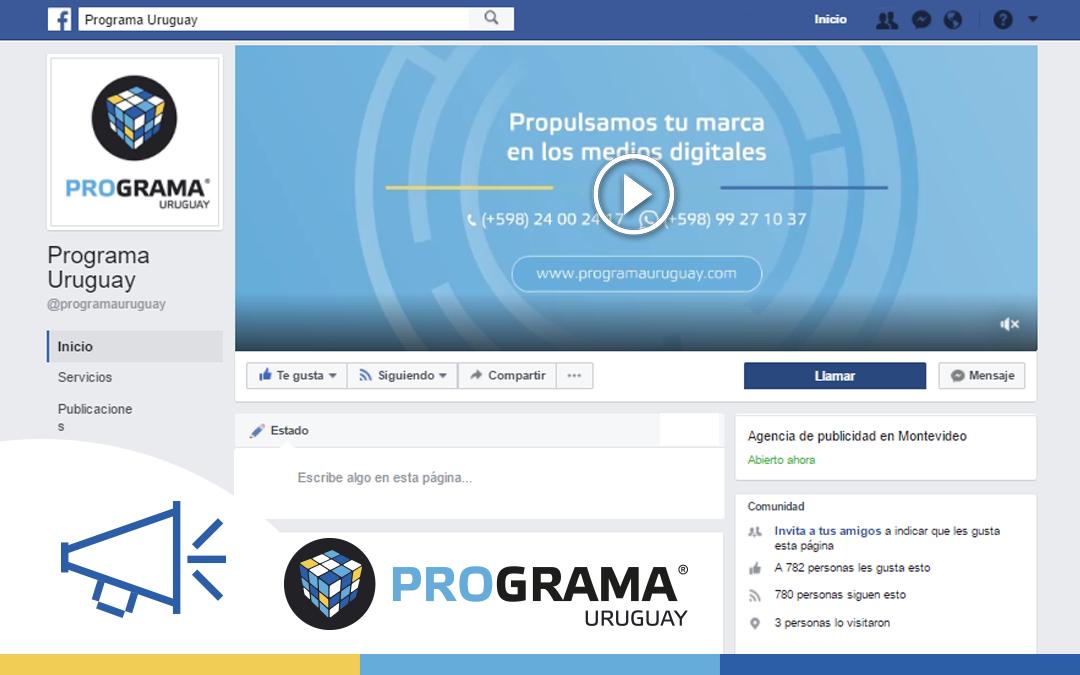 Videos en las portadas de Facebook, una nueva forma de innovar