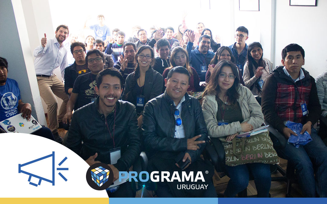 Fuimos expositores en la WordCamp Cusco 2018